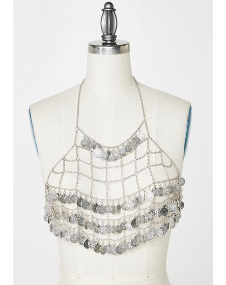 Solar Gypsy Chain Top