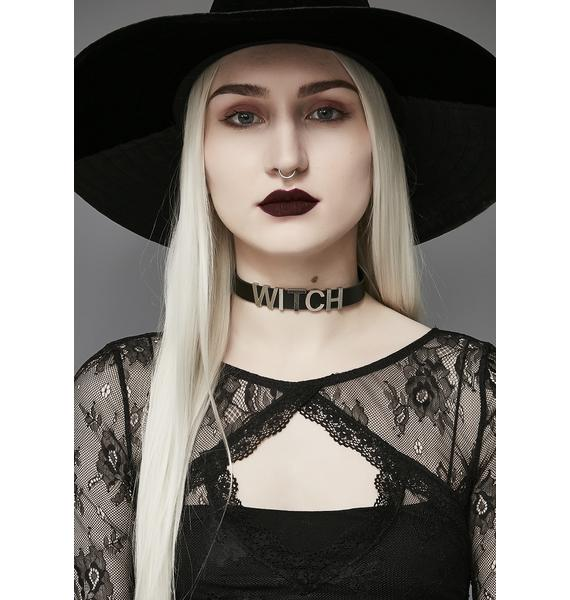 Queen Of Darkness Choker