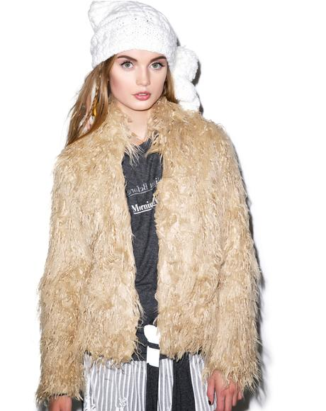 Night Song Faux Fur Jacket