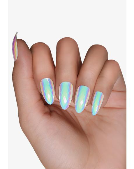 Opal Iridescent Press On Nails