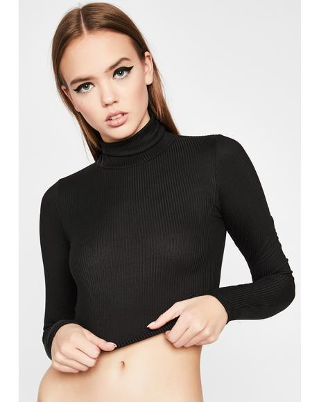Moody Thots Ribbed Top