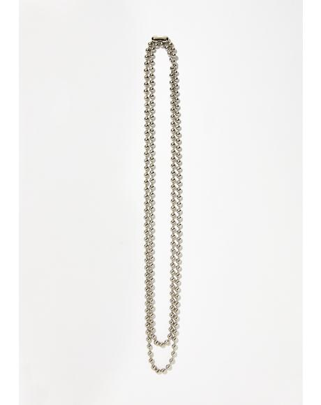 Rebel Grl Layered Necklace