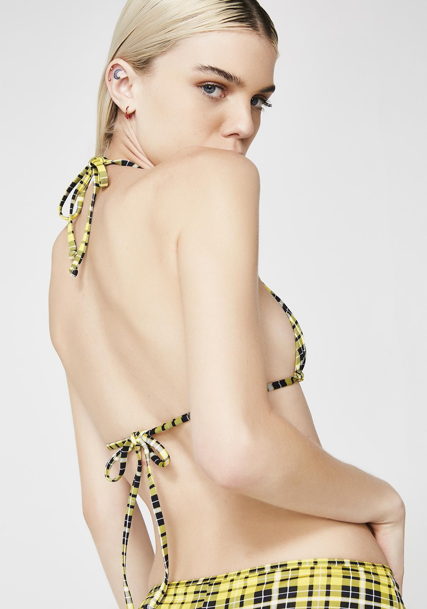 Frankies Bikinis Baxter Bikini Top