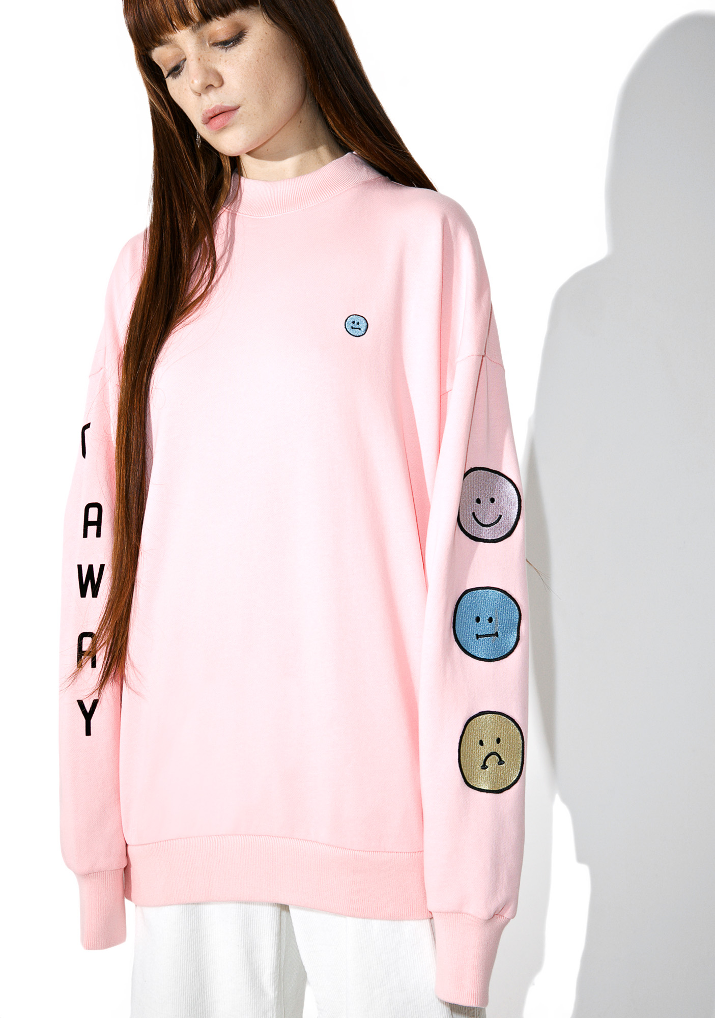 Lazy Oaf Moody Faces Sweatshirt
