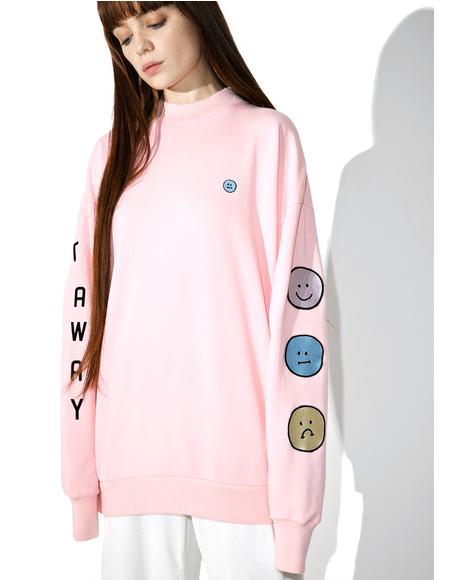 Moody Faces Sweatshirt