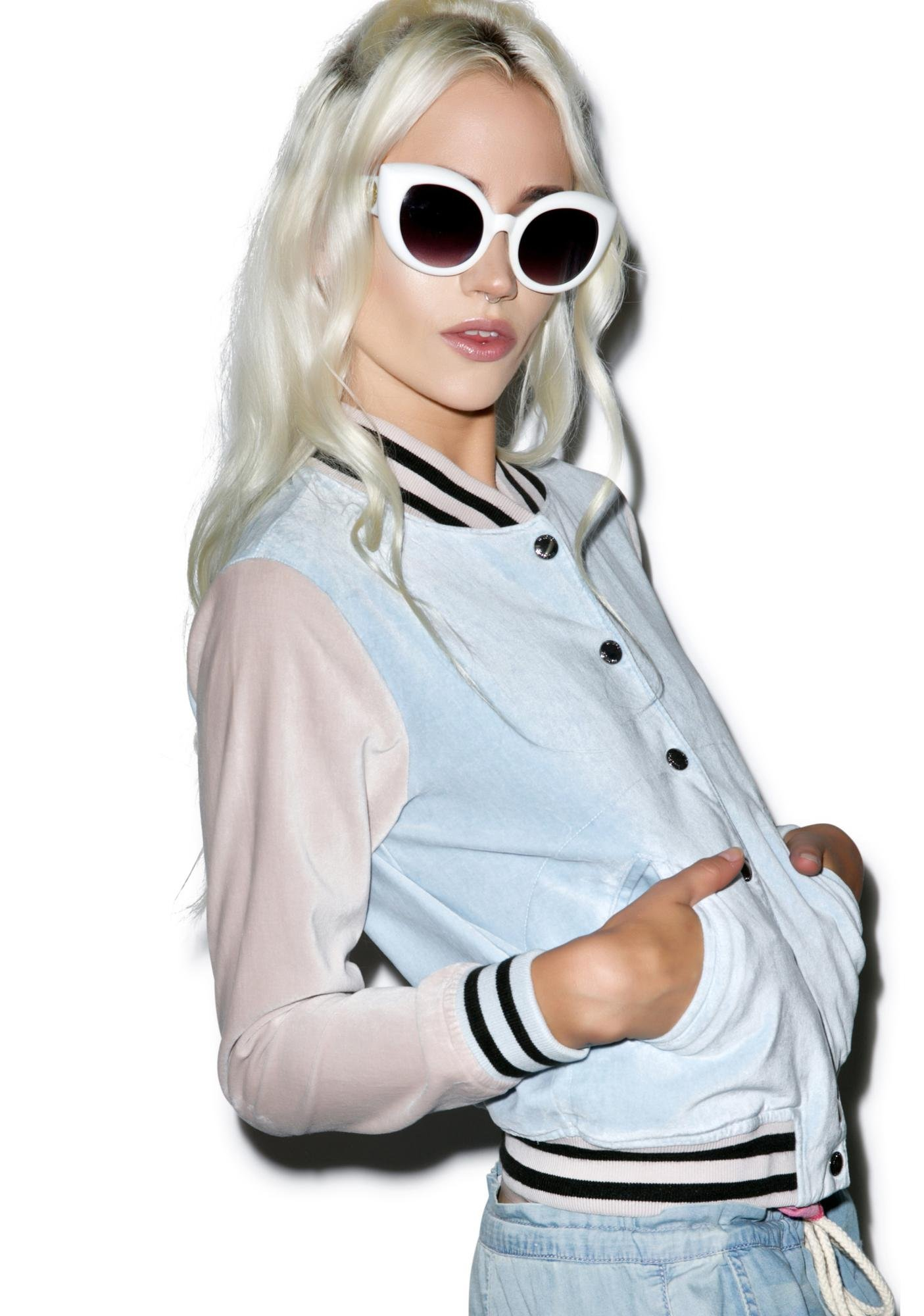 Wildfox Couture Blase Baseball Jacket
