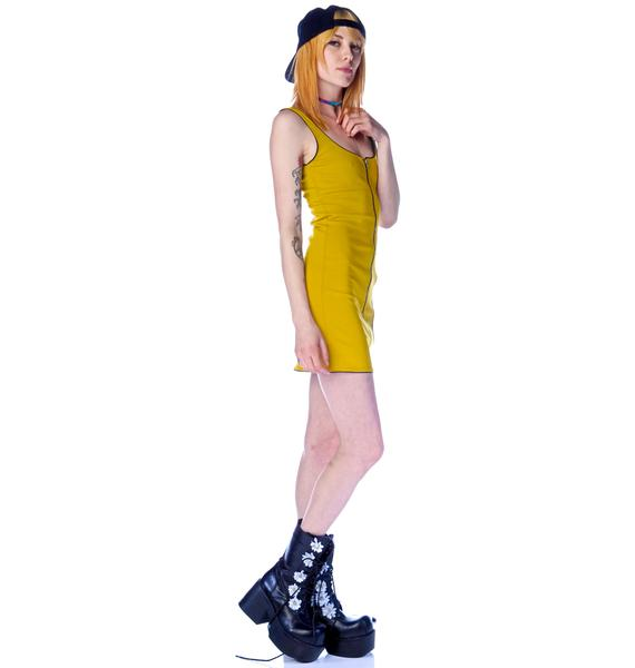 One Teaspoon Parton Zipper Dress