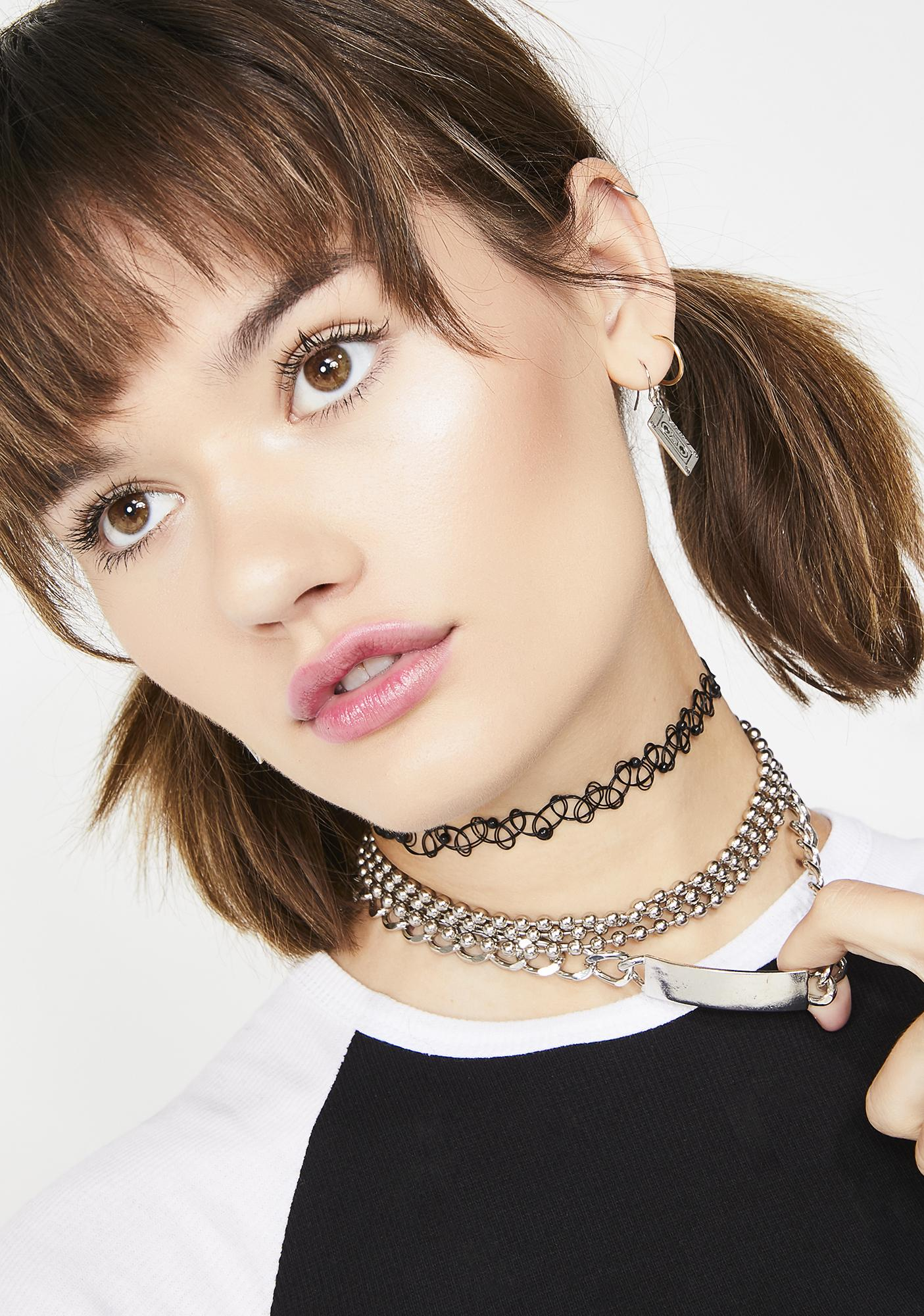 Ready Or Not Nameplate Choker