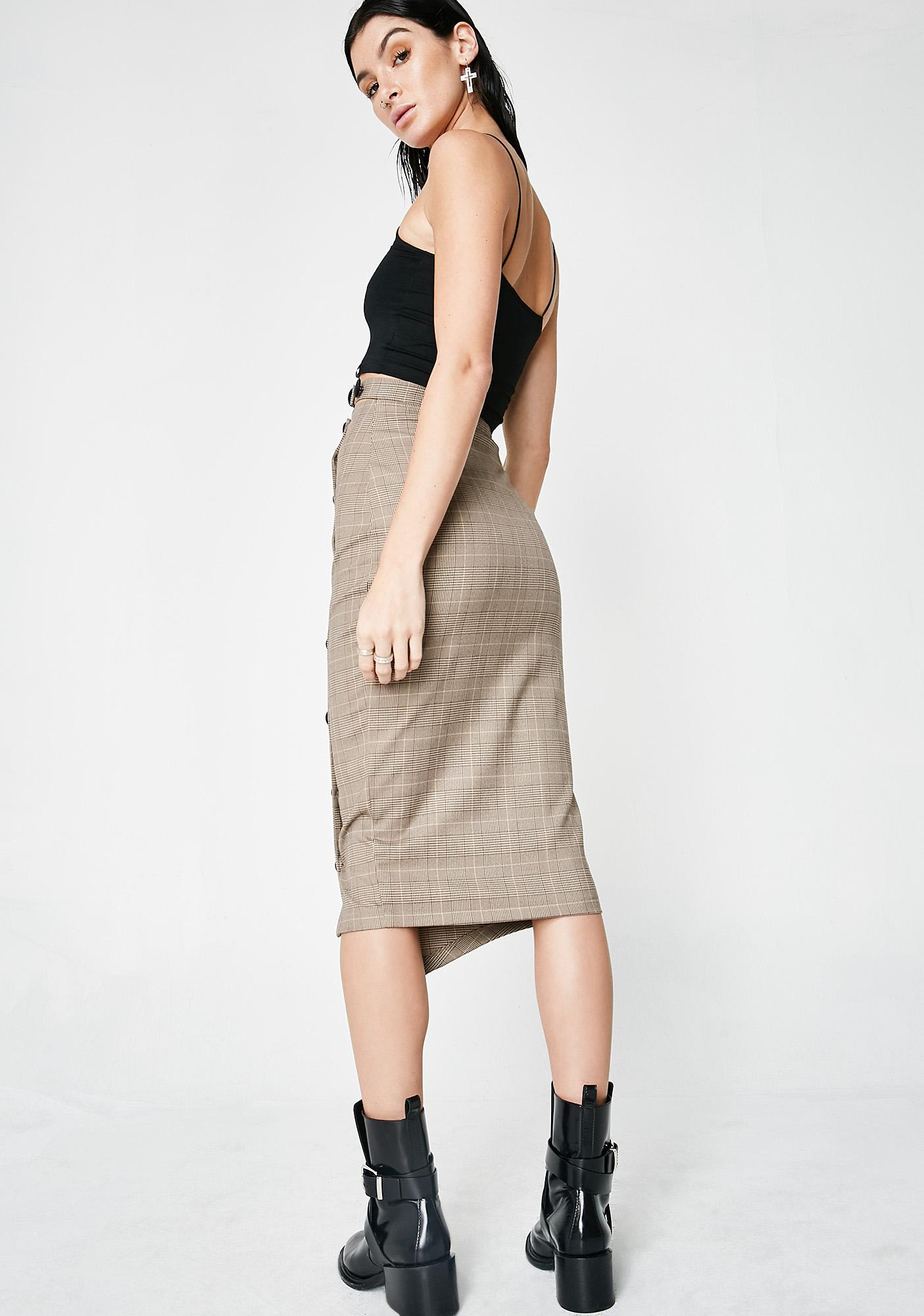 Can't Stop Won't Stop Pencil Skirt