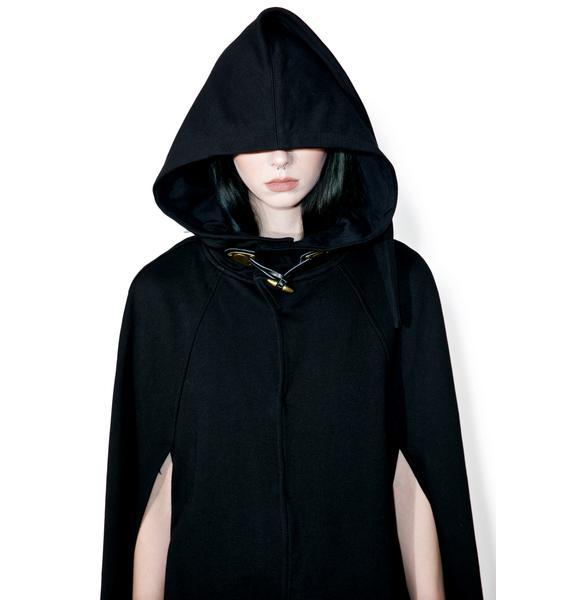 Punk Rave Vampyre Bats Cloak