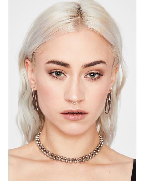 Stackin' Paper Clip Earrings