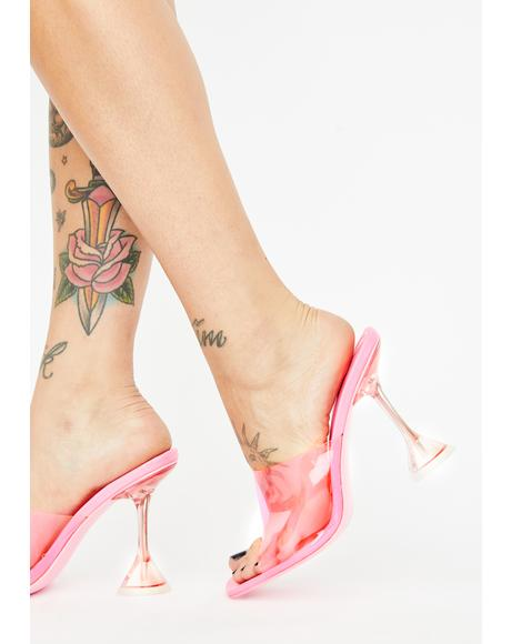 Sugar Ur Clearly Into Me PVC Heels