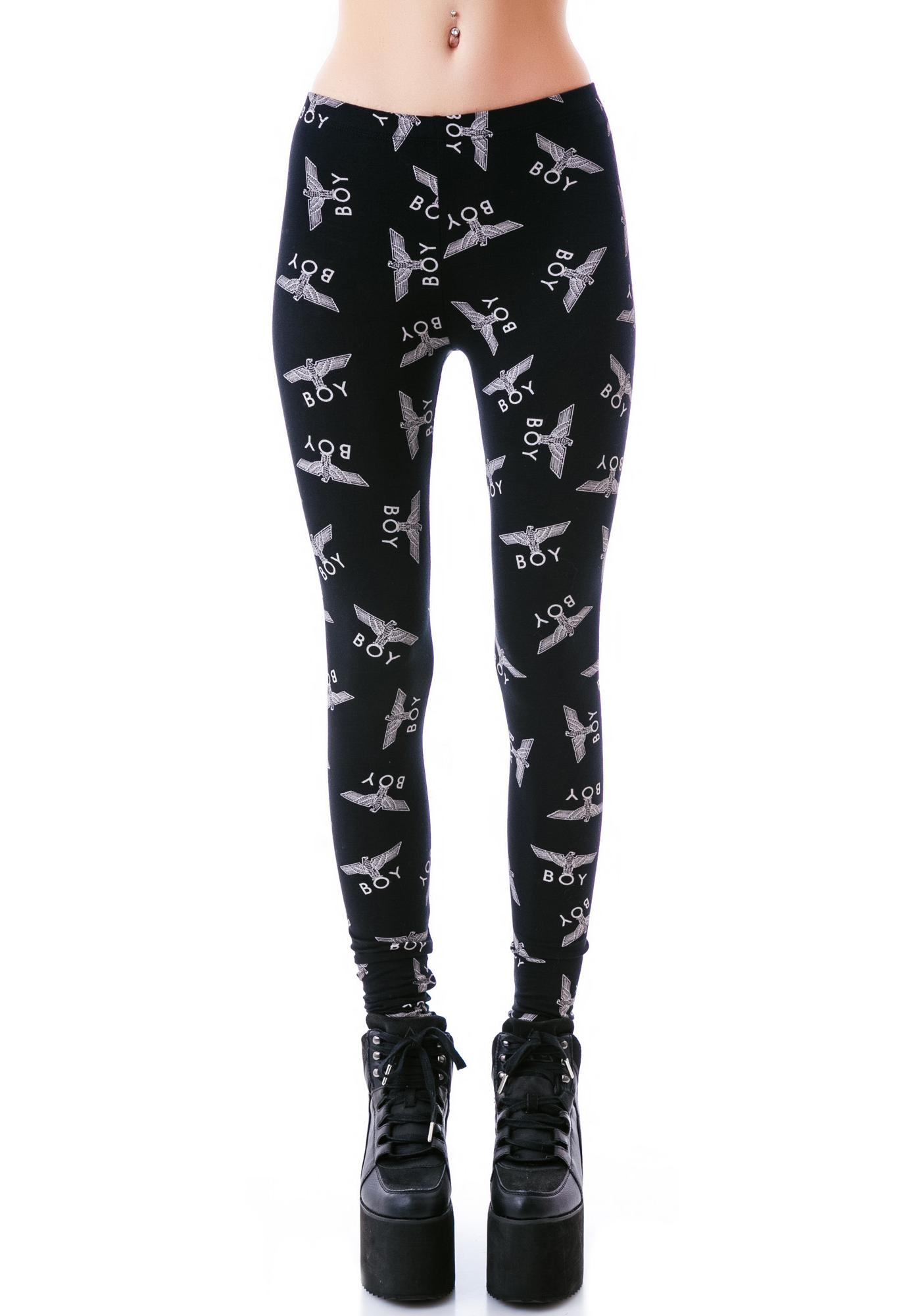 BOY London Allover Eagle BOY Standard Leggings