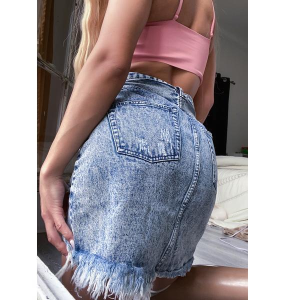 Madison the Label Jaymee Denim Skirt
