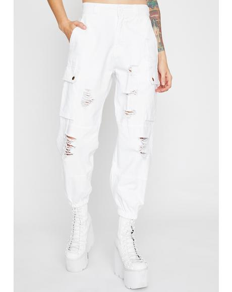 Purely Cruel Fate Cargo Pants