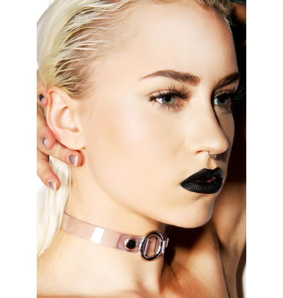 Club Exx Make Her Say O Ring Choker