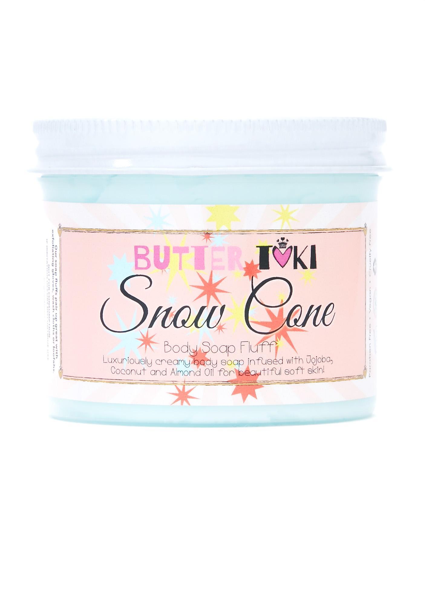 Butter Toki Snow Cone Soap Fluff