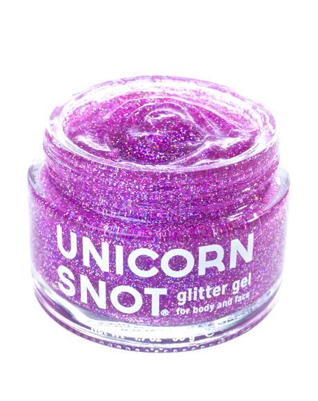 Unicorn Snot Purple Glitter Gel