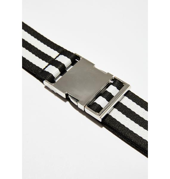 Bad Conduct Striped Belt