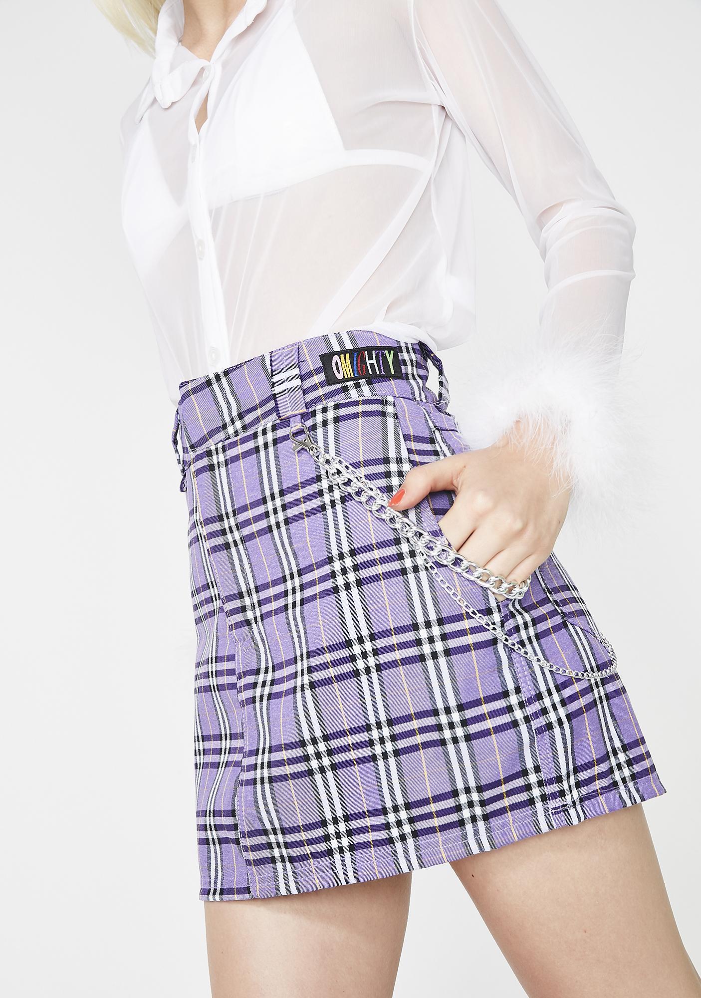 O Mighty Daphne Chain Skirt