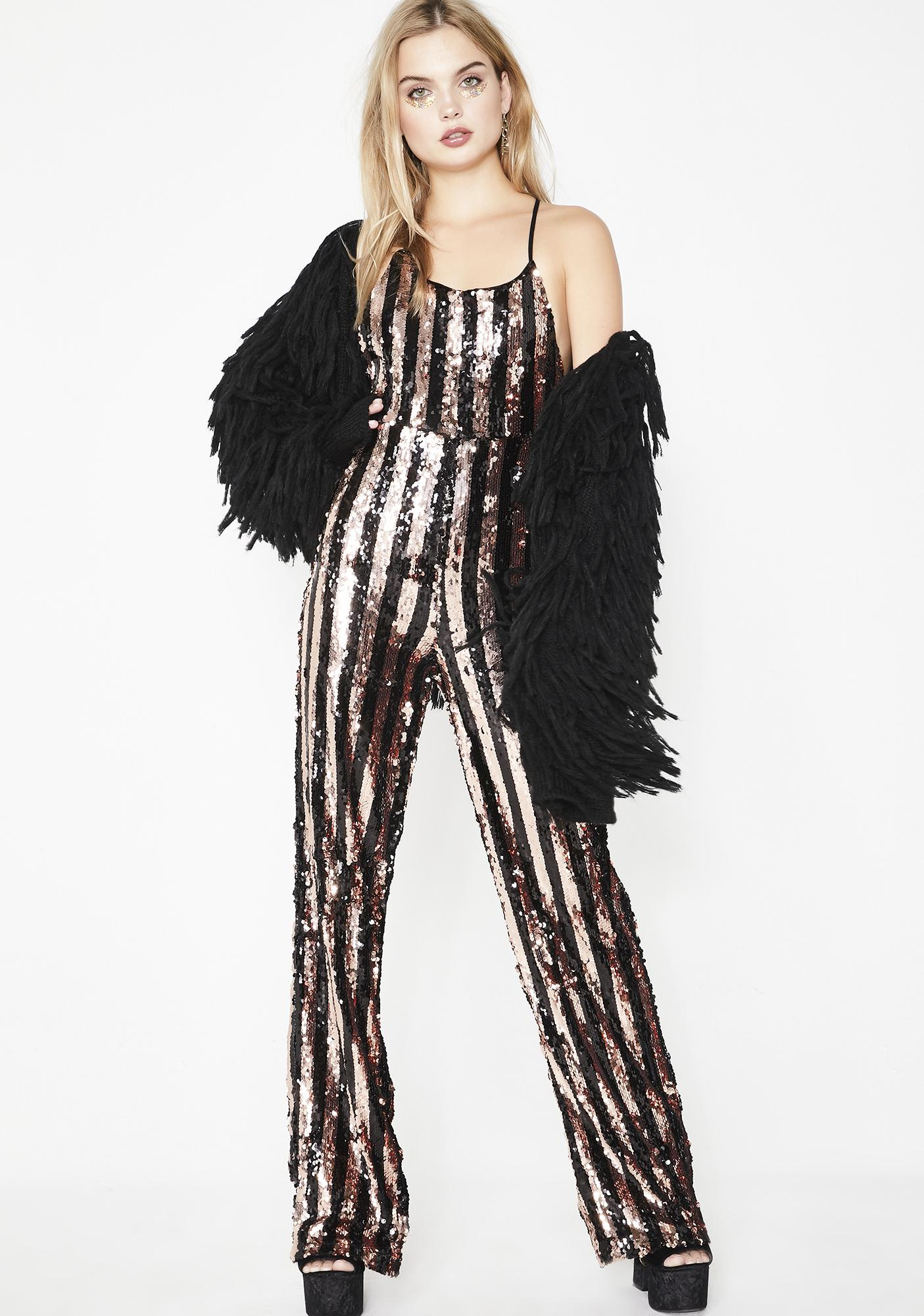 9d006ab79ffe Sequin Stripe Wide Leg Jumpsuit