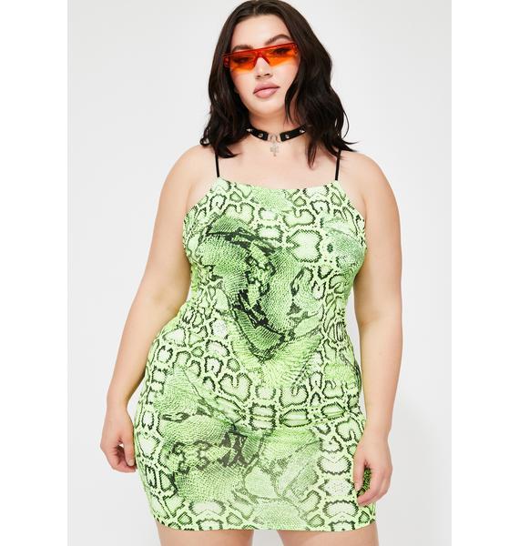 Venomous Vixxen Mini Dress