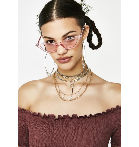 Sugar N Spice Cat Eye Sunglasses