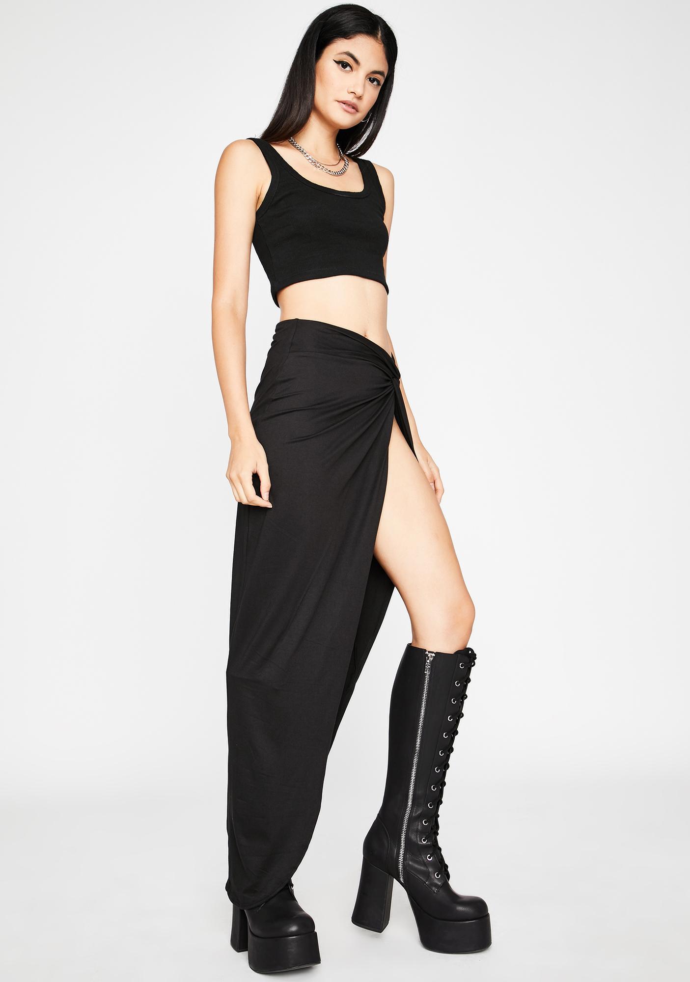 Eye Of The Storm Midi Skirt