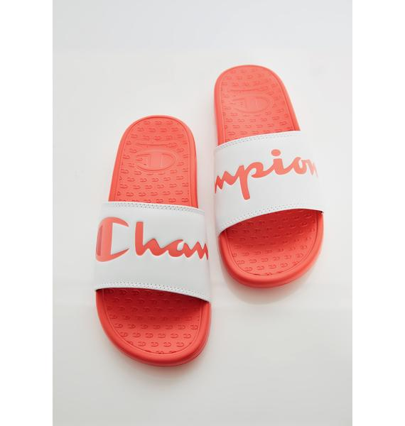 Champion Peachy Super Slide Split Script Slides