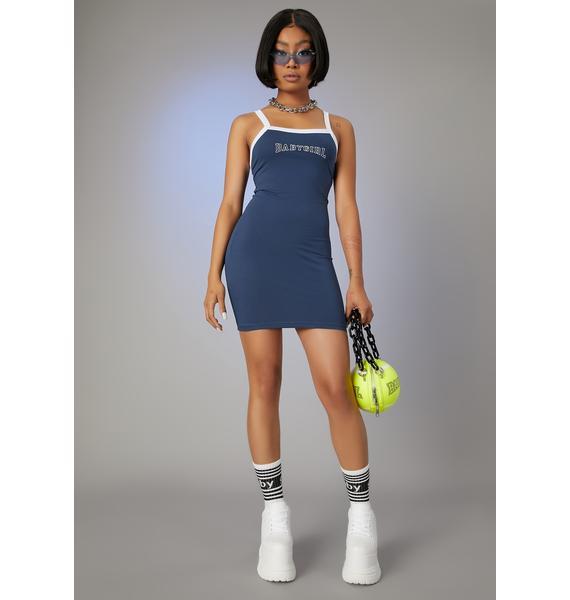 Poster Grl Call My Agent Sporty Tank Dress