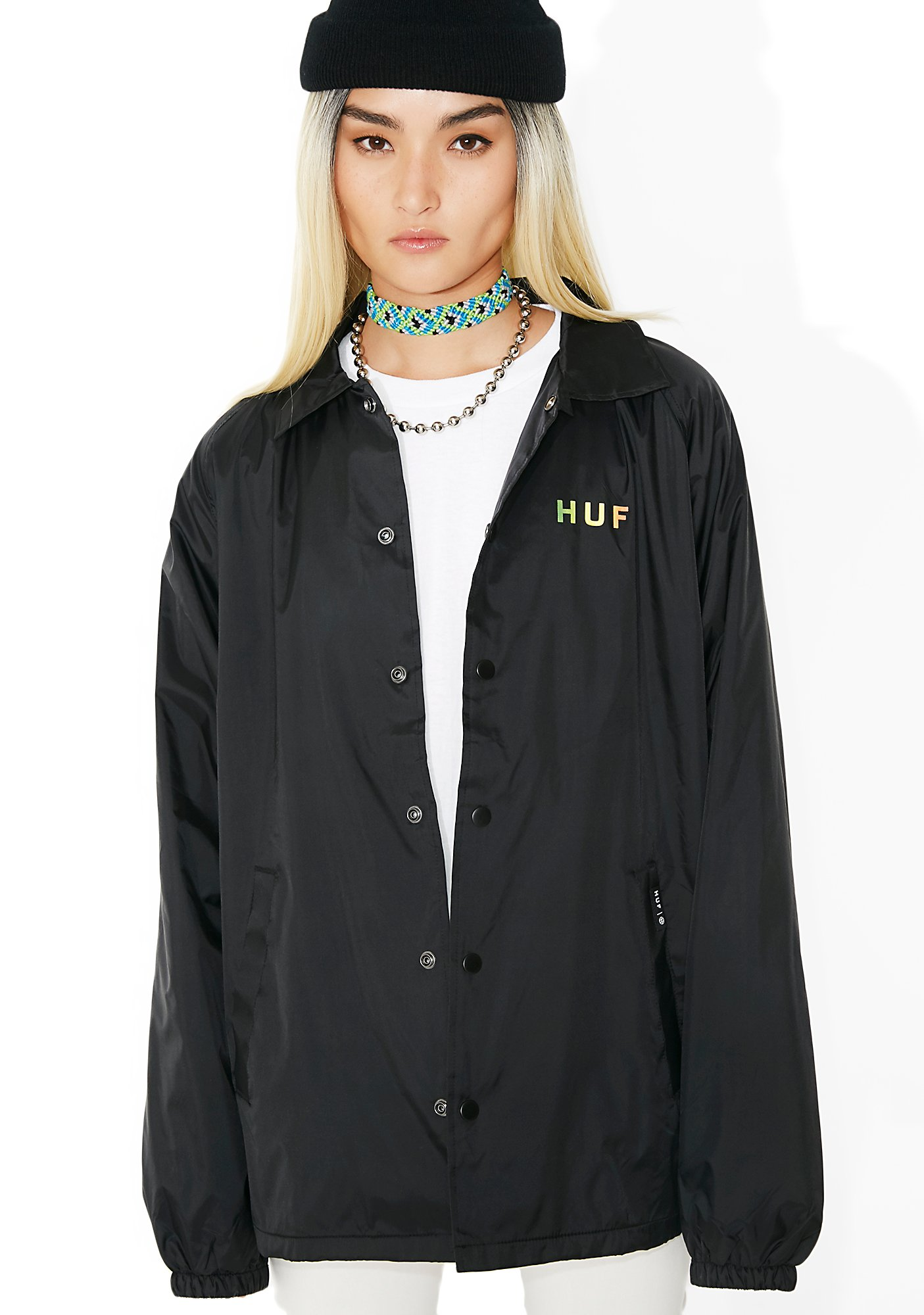 HUF Gradient OG Coaches Jacket