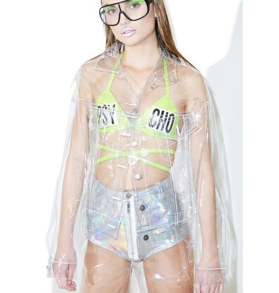 Brashy Crystalline Clear Jacket