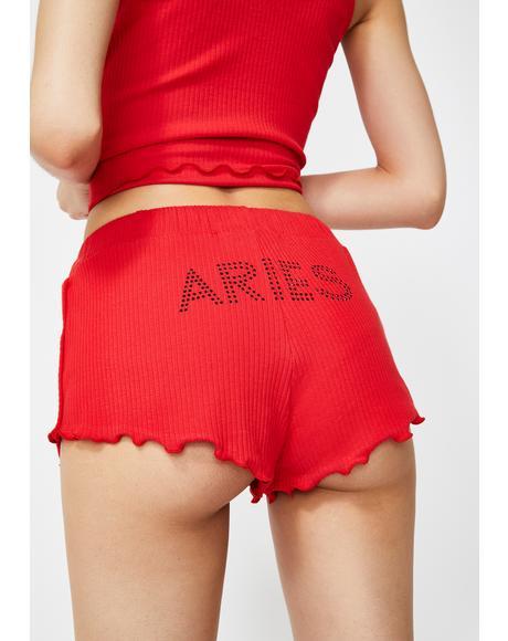 Aries AF Pajama Shorts