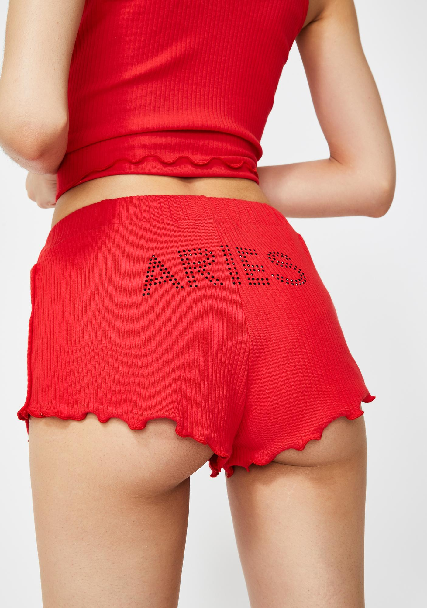 HOROSCOPEZ Aries AF Pajama Shorts