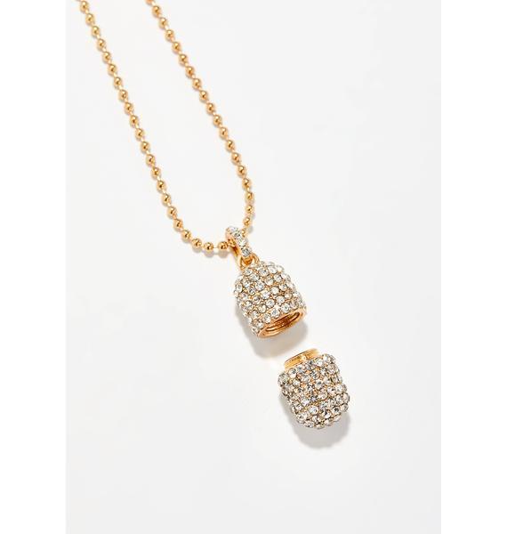 Love Overdose Pill Case Necklace