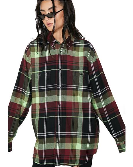 90's Check Conduct Shirt