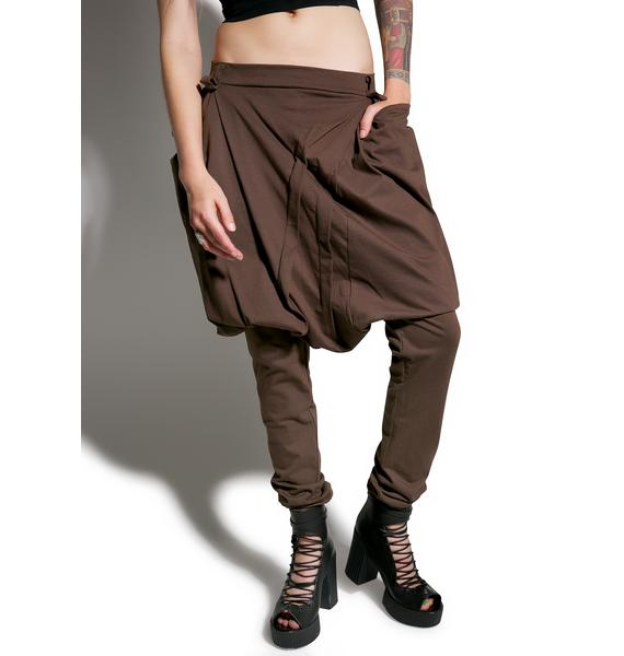 MNML Trapper Drop Crotch Pants