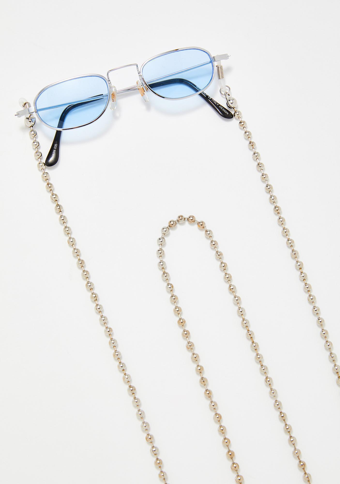Ballin' On You Sunglasses Chain