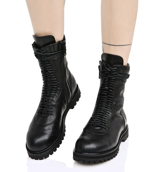Current Mood Blackout Boots