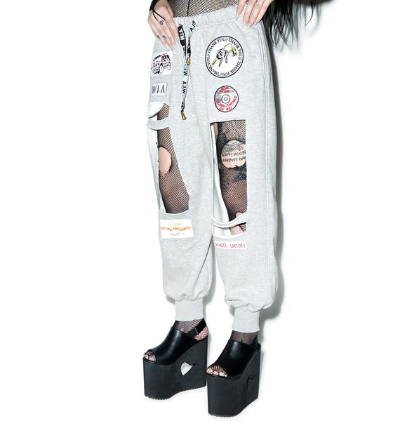 W.I.A Hole Sweatpants
