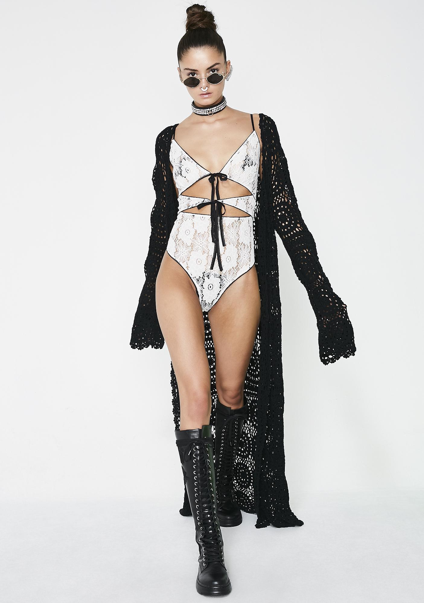 Don't Tell Lace Bodysuit
