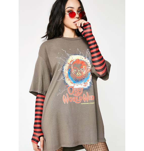 Obey End Of The World Tour Tee