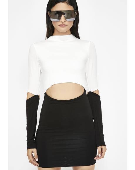 Gemini Rising Bodycon Dress