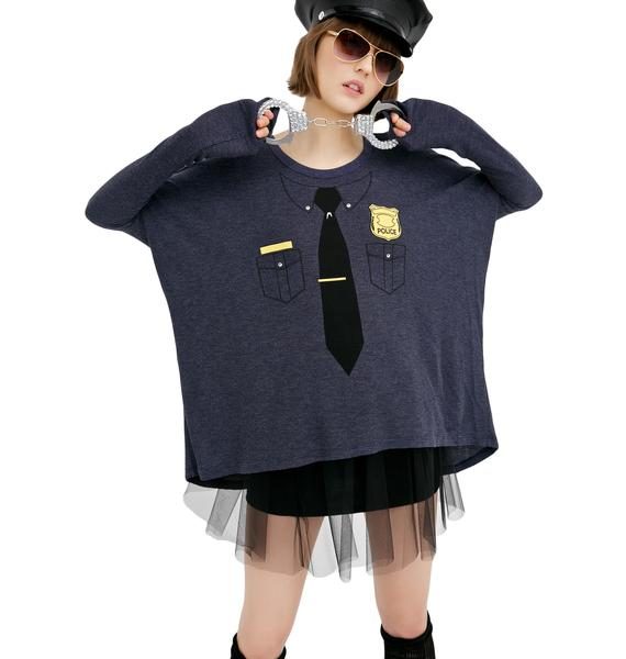 Wildfox Couture Cops Alana Top