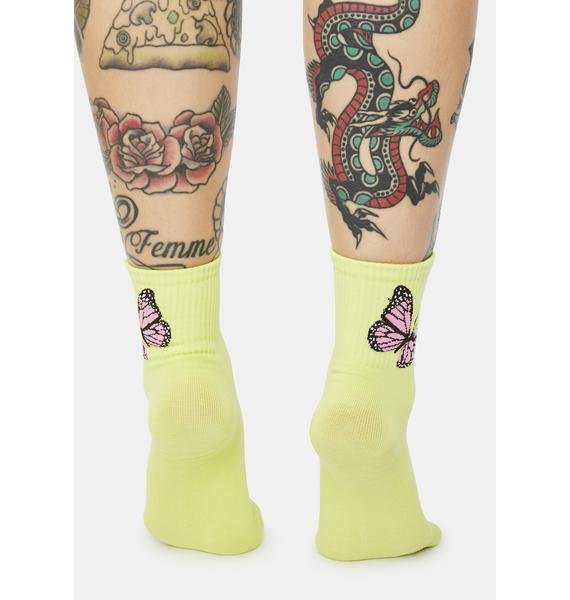 Atomic Sound Of Freedom Ribbed Crew Socks