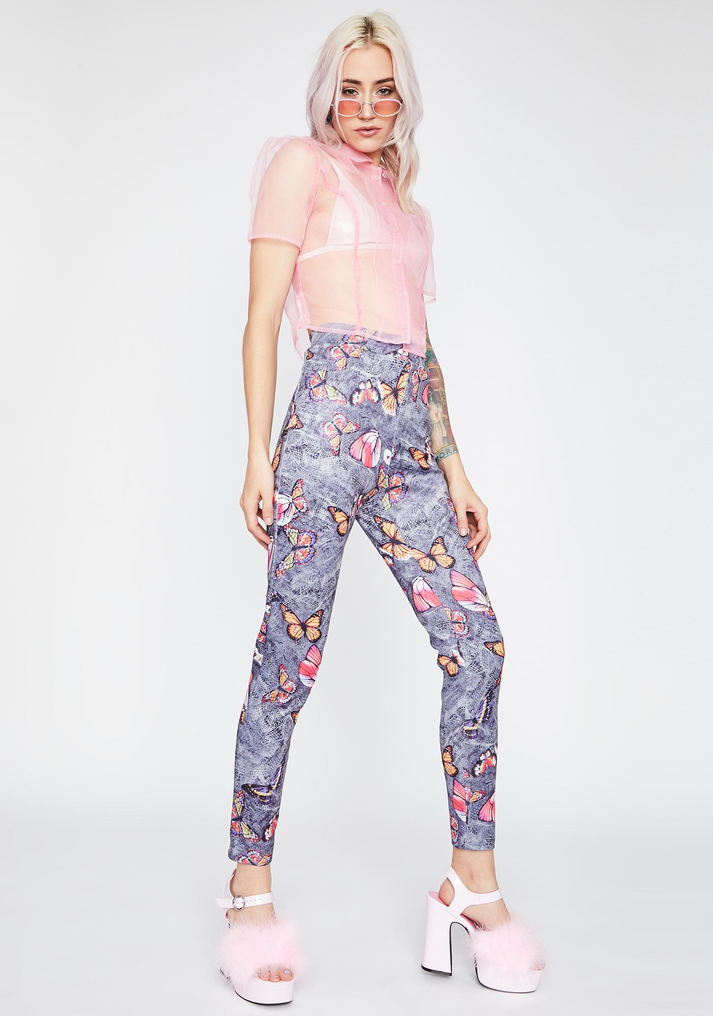 Mystic Nature Butterfly Pants