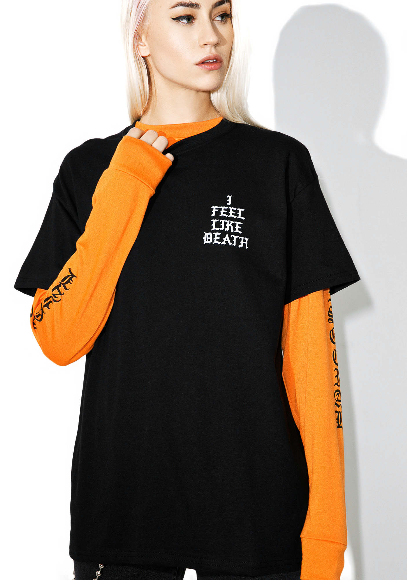 DeathxCard Apparel I Feel Like Death Tee