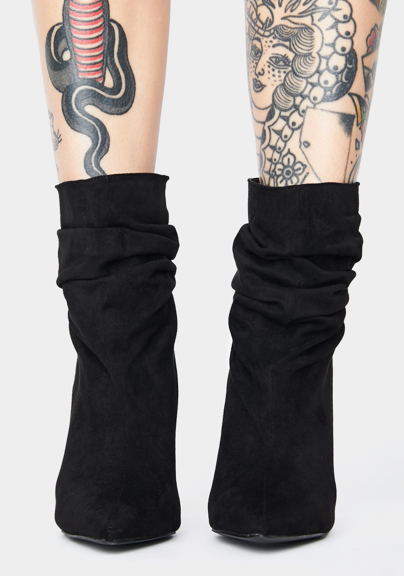 Public Desire Bossin' Ankle Boots