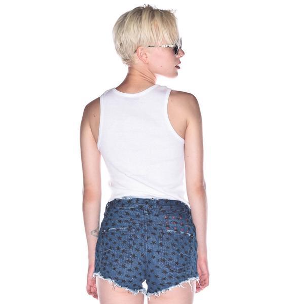 Ksubi Pretty Vegas Cut Off Shorts