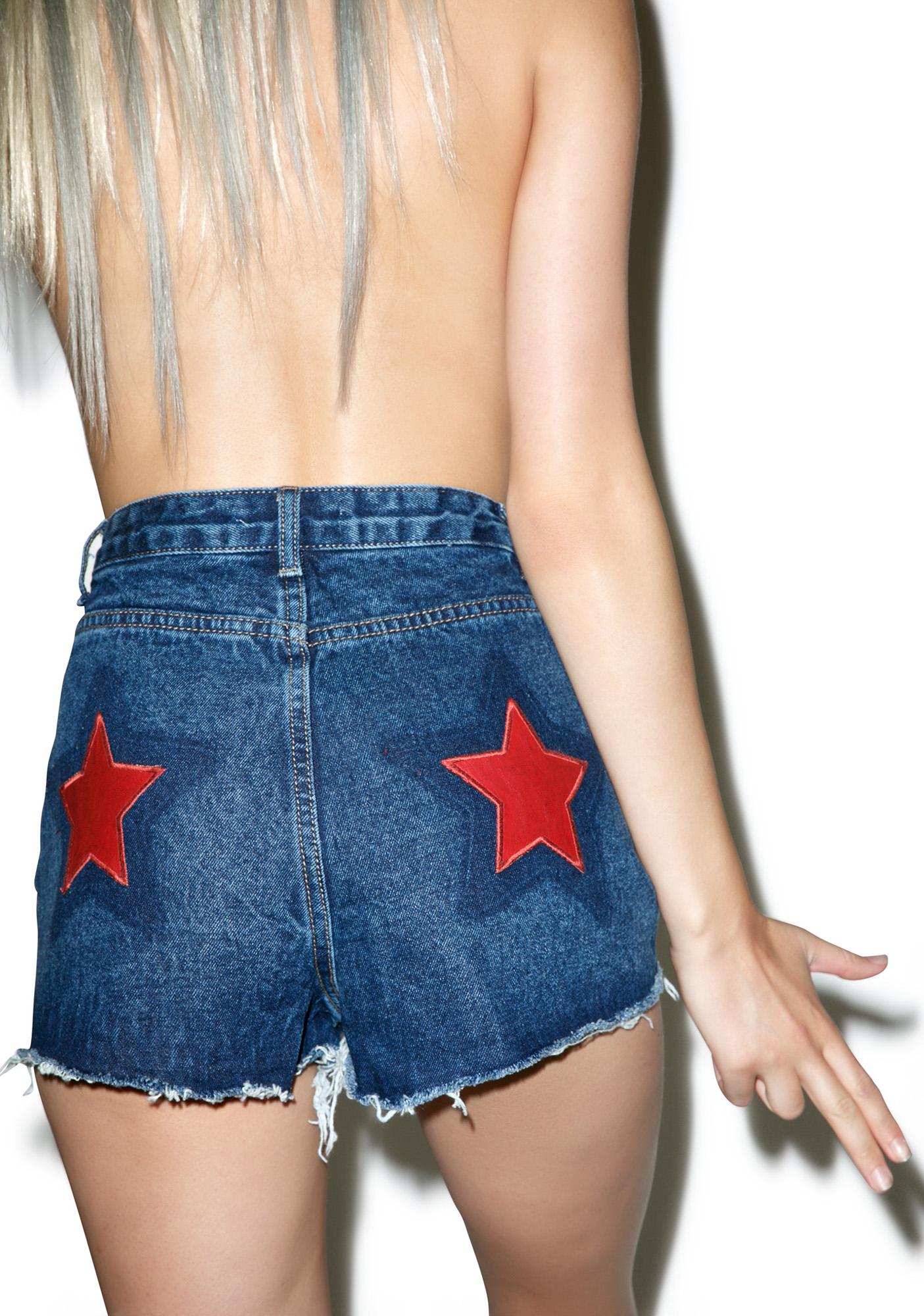 Glamorous Outlaw Star Shorts